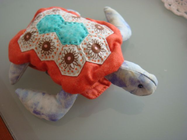famille tortue pique-épingles