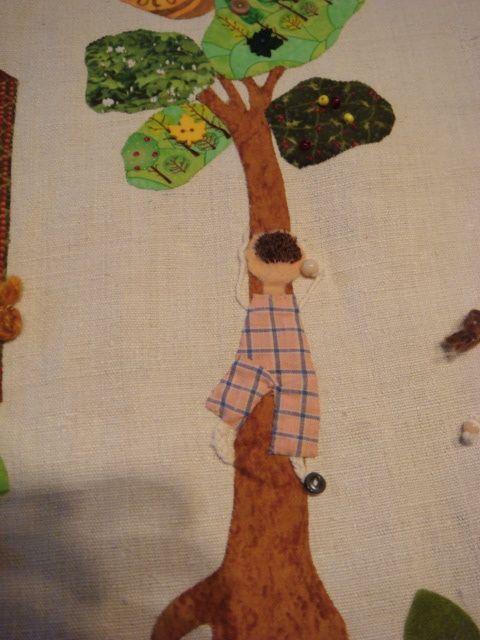 Le casse-cou profite de l'inattention générale pour grimper aux arbres