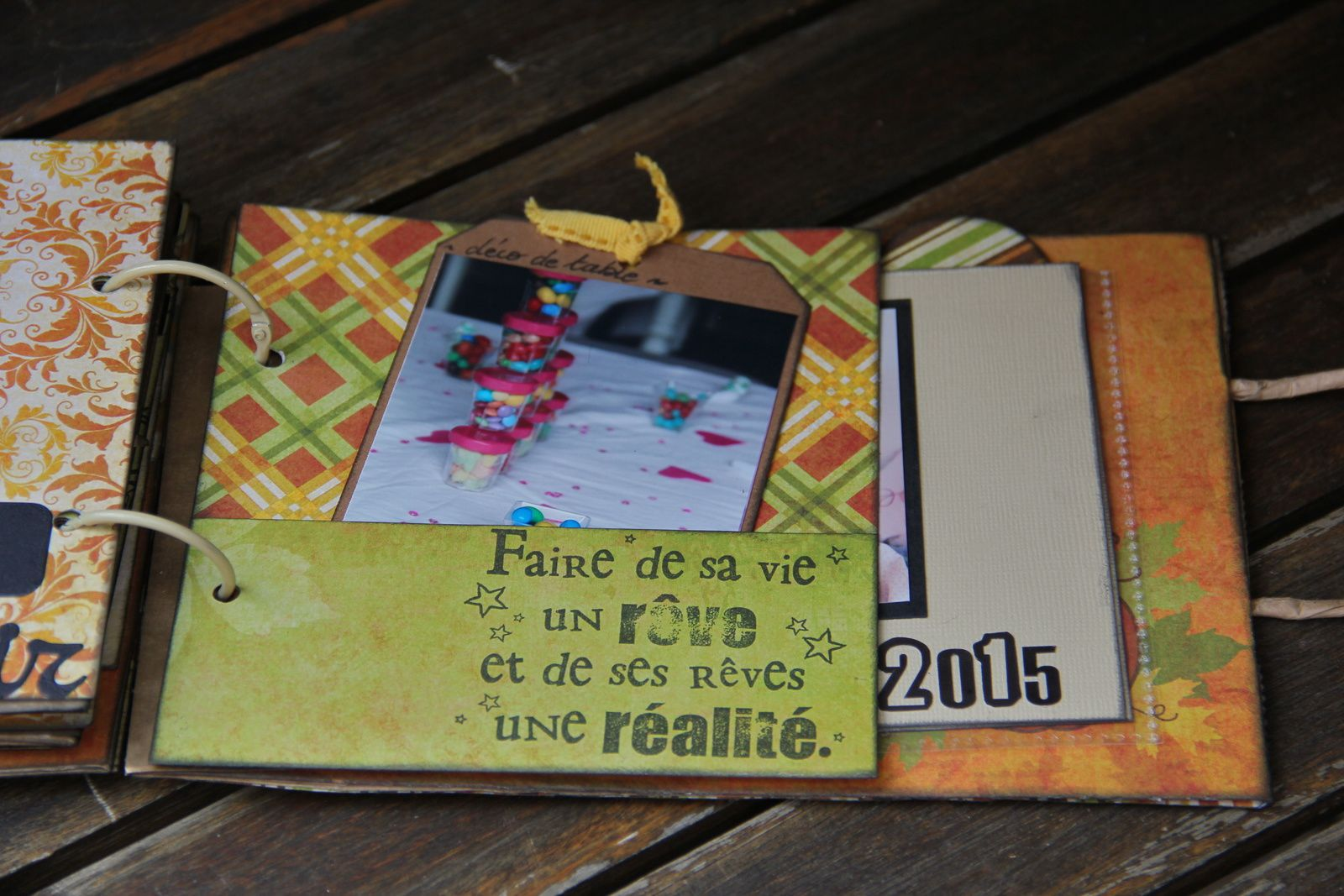 Mini album &quot&#x3B;copines&quot&#x3B;... Pour Coraline