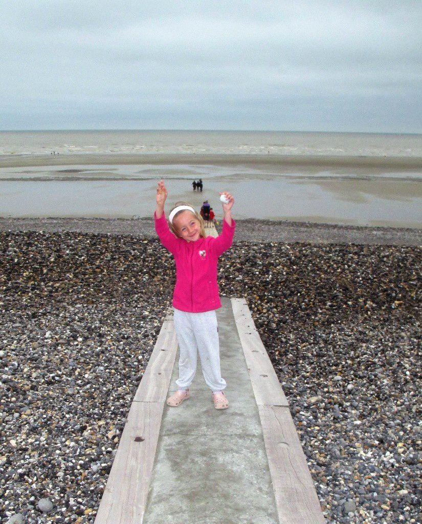 Baie de Somme 2014 avec les ch'tites filles