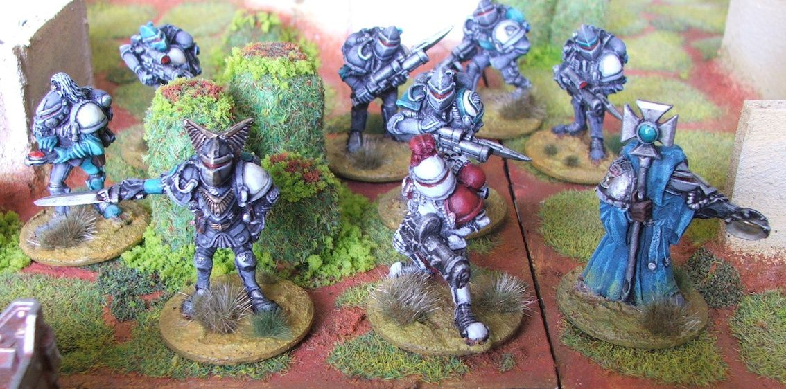 Firefight the ion age partie 3 : Lance de 22 Crusaders