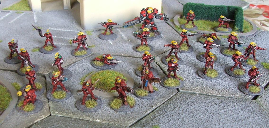 Firefight the ion age en 15mm cette fois