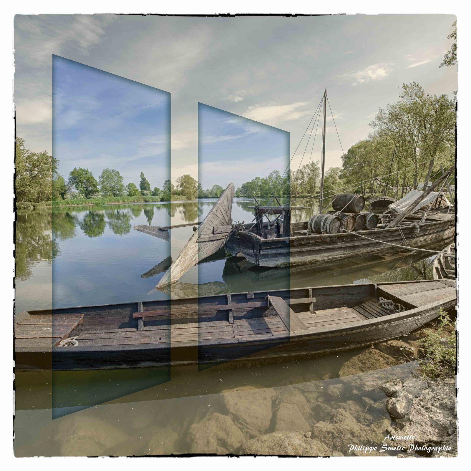Le monde flottant (fenêtres) à Savonnières