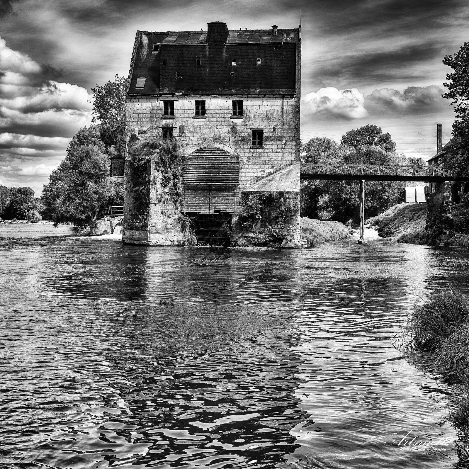 Le grand moulin - Balla - Indre-et-Loire