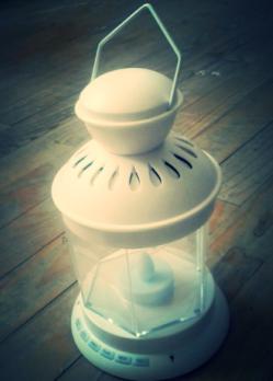 VEILLEUSE &quot&#x3B;LAMPE TORCHE&quot&#x3B; CORANIQUE