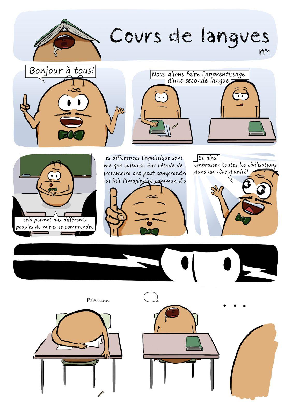Cours de langue n°1