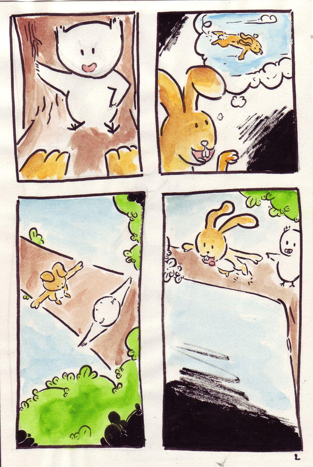 Quand les Lapins auront des ailes