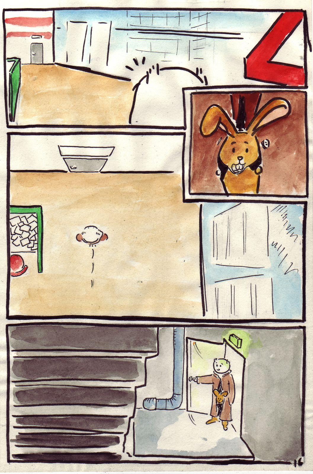 Quand les lapins auront des ailes pages 16 et 17