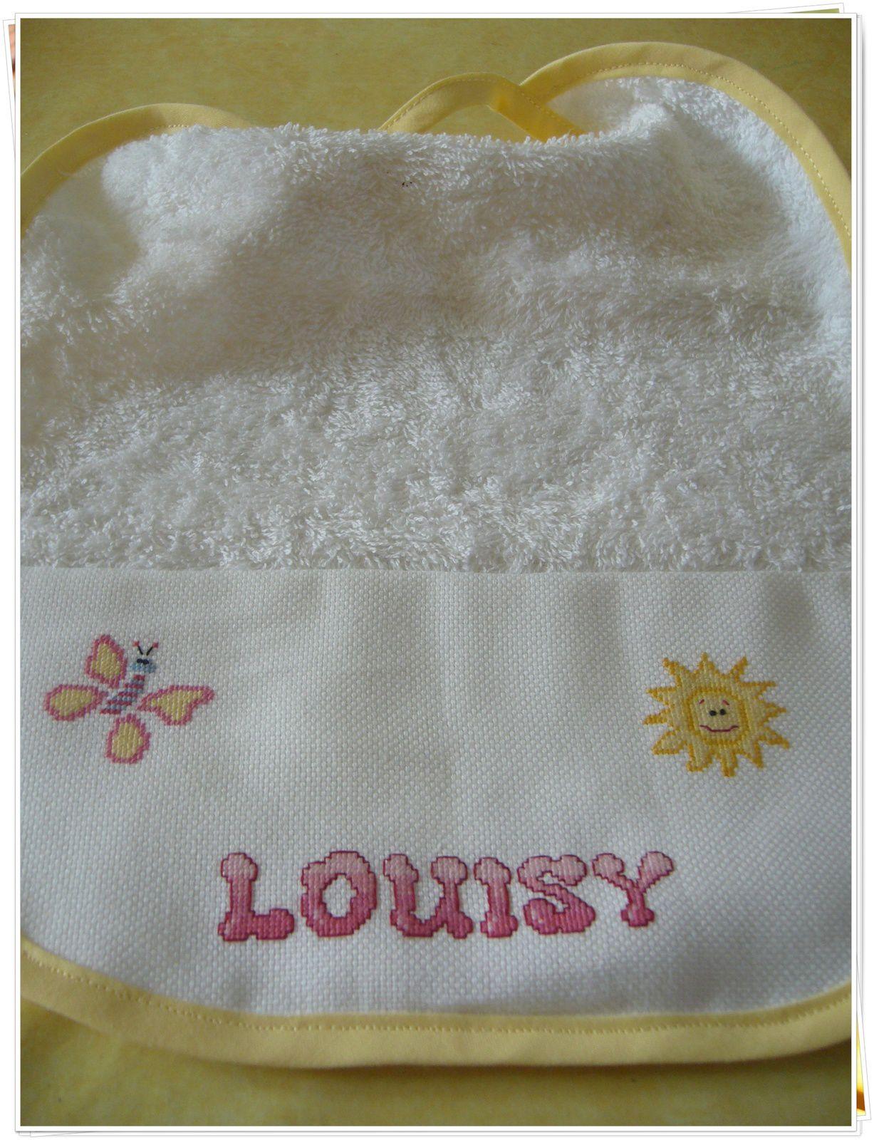 Corbeille de naissance pour Louisy