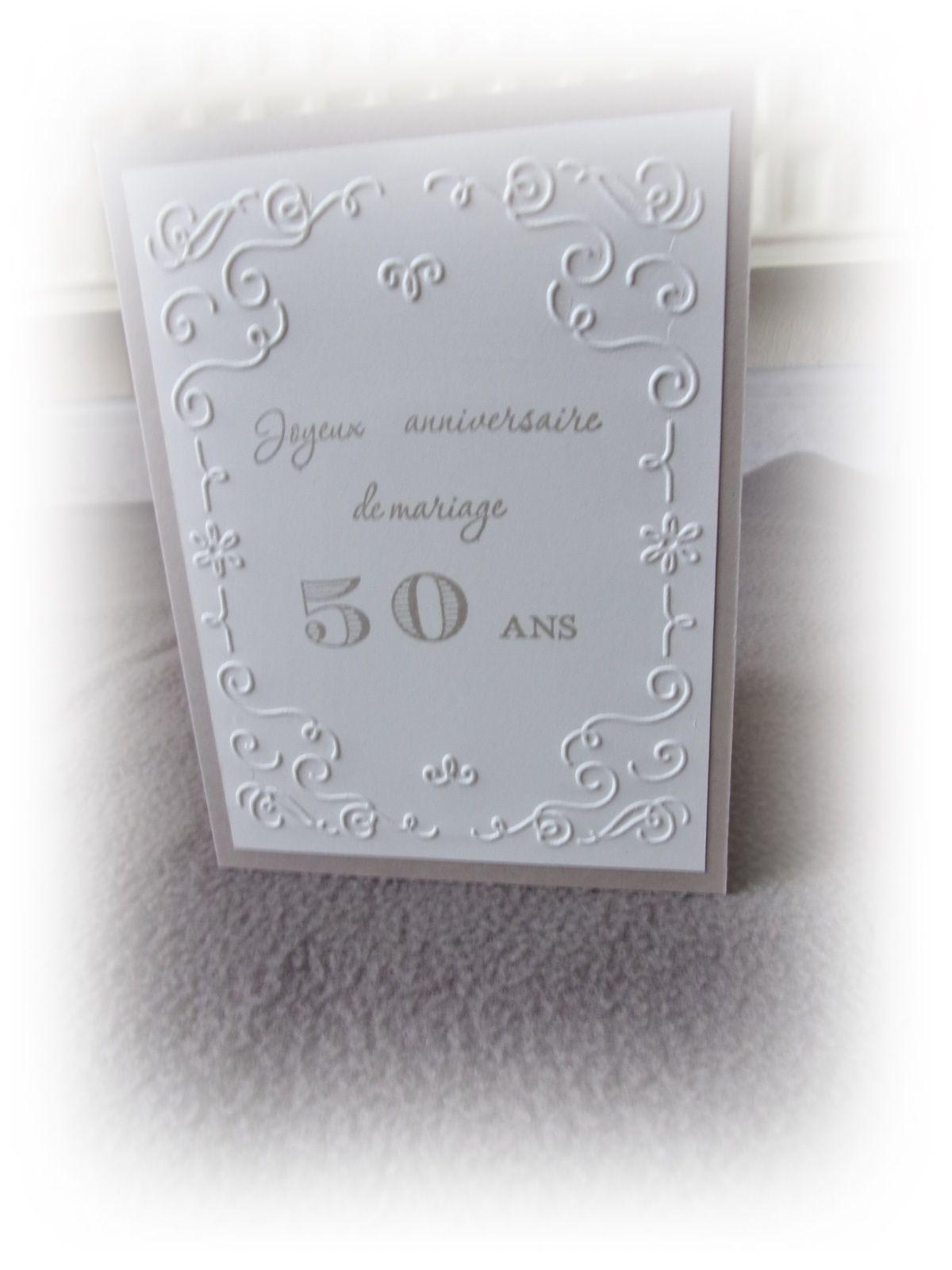 carte anniversaire de mariage