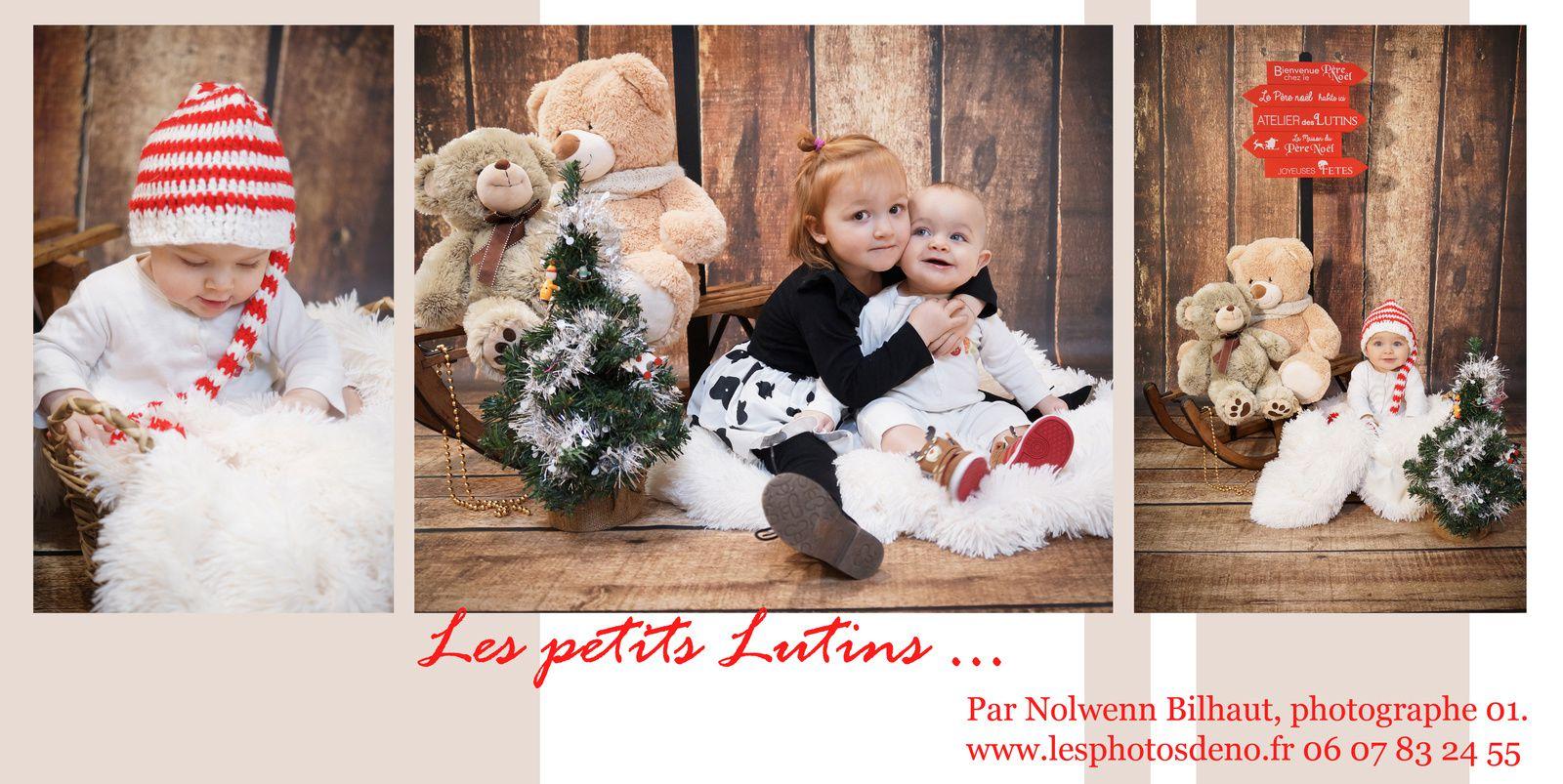 Portraits de Noël Ain, Séance photo album pour les Grands Parents, à Bohas-Meyriat-Rignat par Nolwenn Bilhaut.