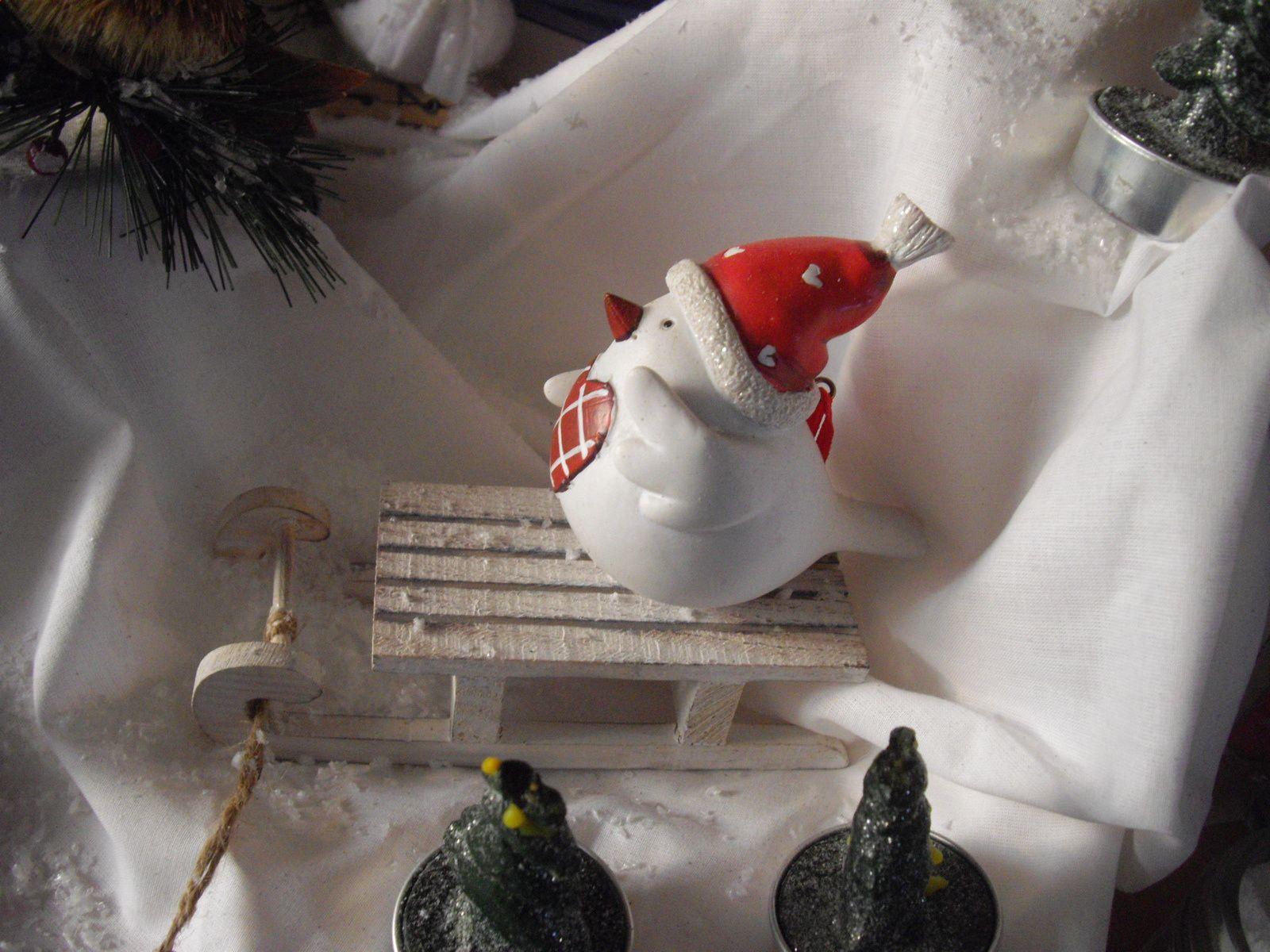 Noël s'installe