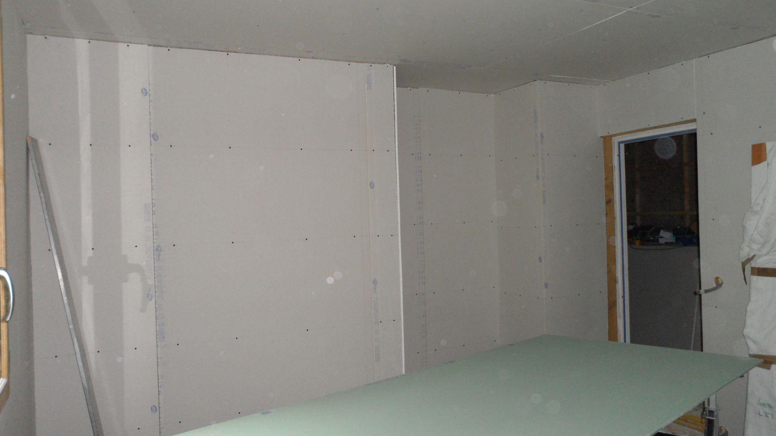 suite placo autoconstruction maison ossature bois loiret. Black Bedroom Furniture Sets. Home Design Ideas