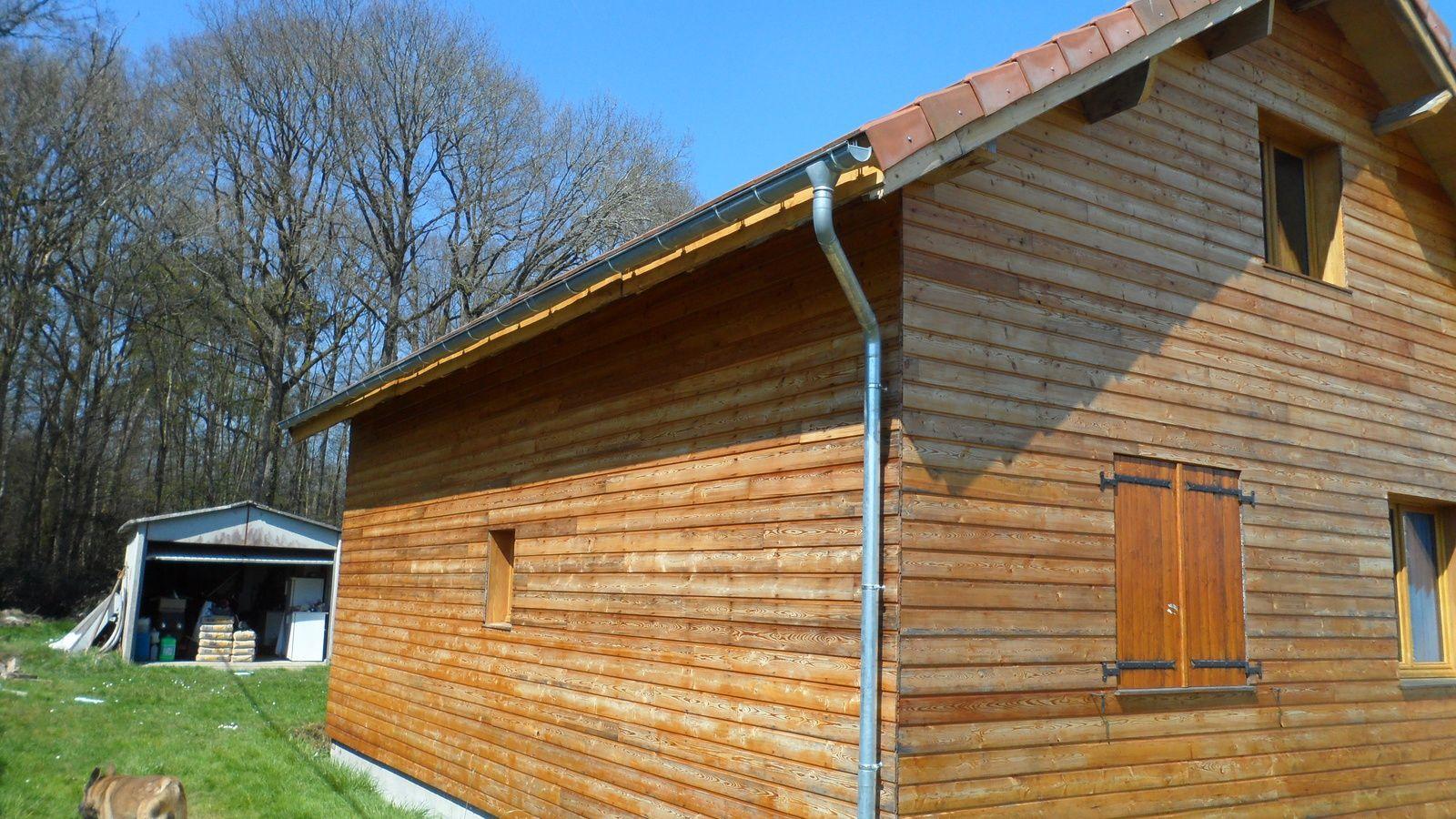 Autoconstruction maison ossature bois loiret blog sur for Colle pour gouttiere zinc