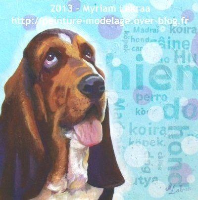 """""""Ignace"""" - Peinture acrylique et gesso sur toile - 30x30 cm - 2013"""