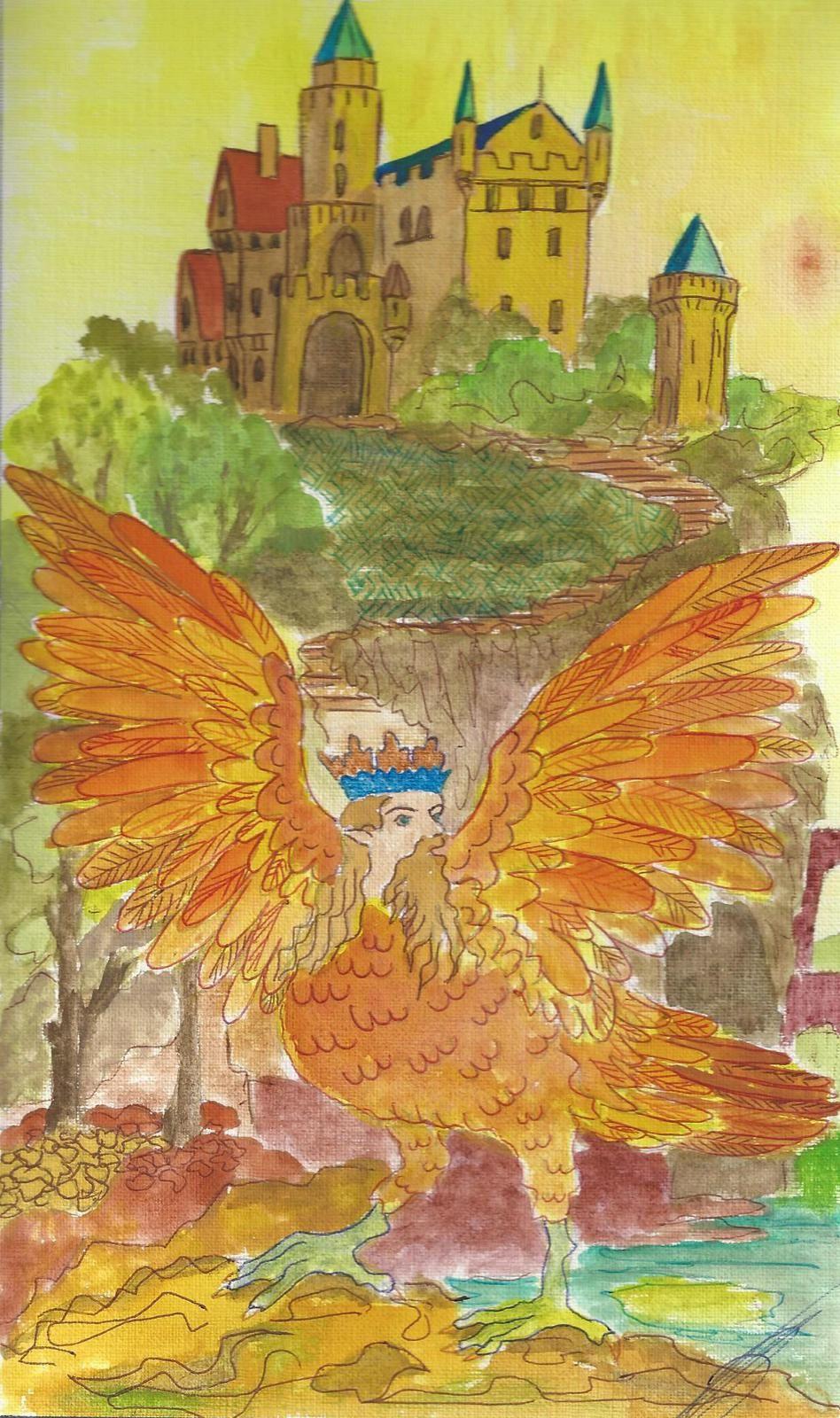 Le roi des oiseaux et son château