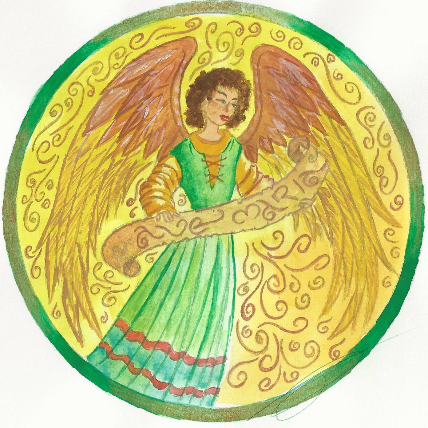 Un ange pour commencer le mois