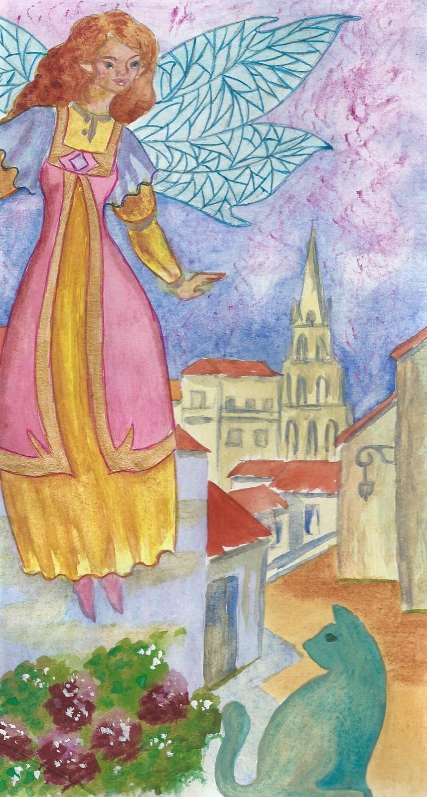 Une fée dans la ville