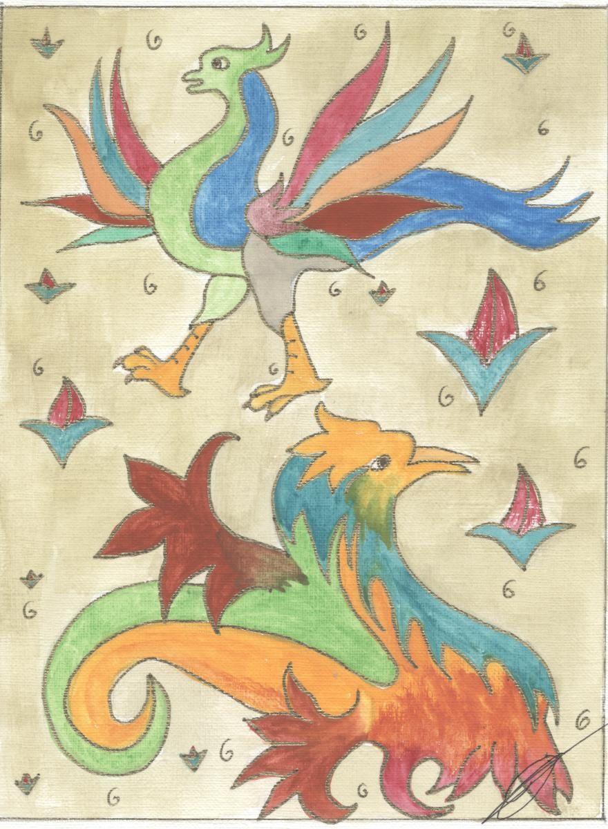 Des dragons