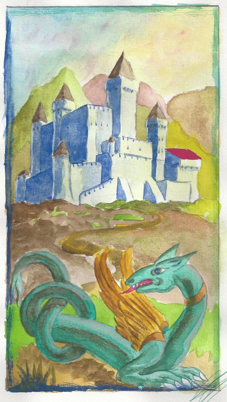 Dragons, gardiens des châteaux