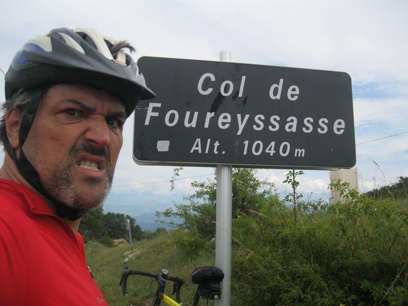 LE COL DE FOUREYSSASSE, LE COL DES GUERINS, LE COL DU VILLAR