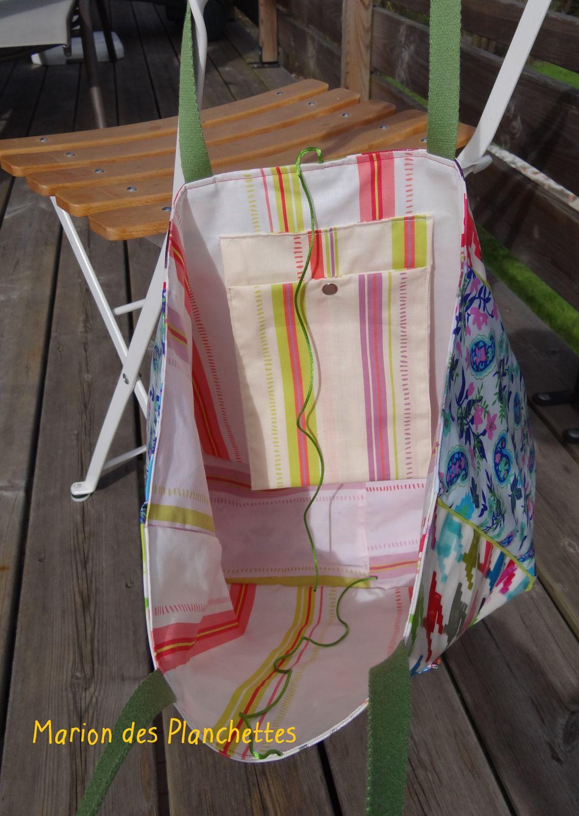 Tous sont uniques ! Voici les sacs avec leur doublure.
