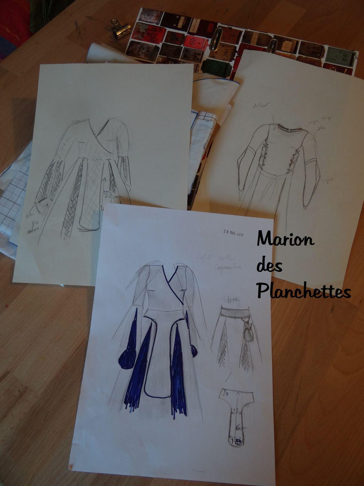 """Défi"" robe médiévale"