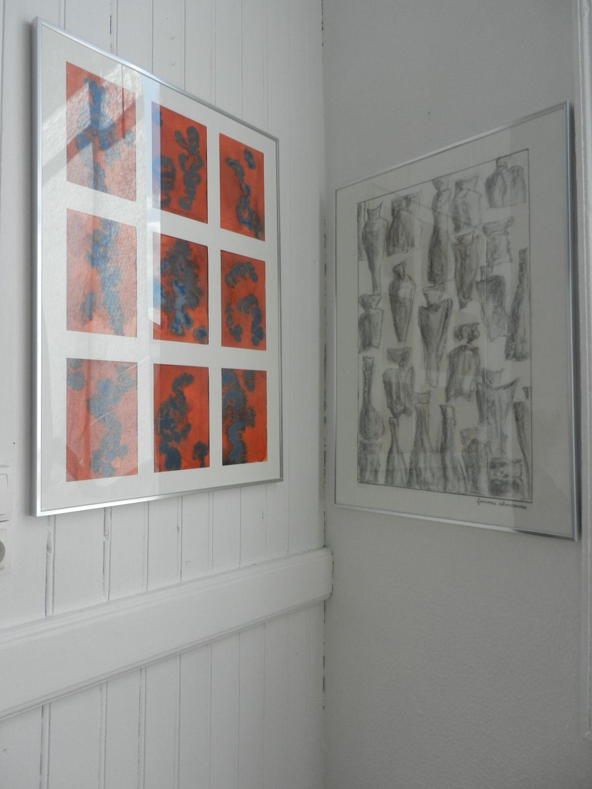 """Exposition de Livia Walczak à l'atelier et espace d'exposition  """"Le corridor"""", Liverdun (54)"""