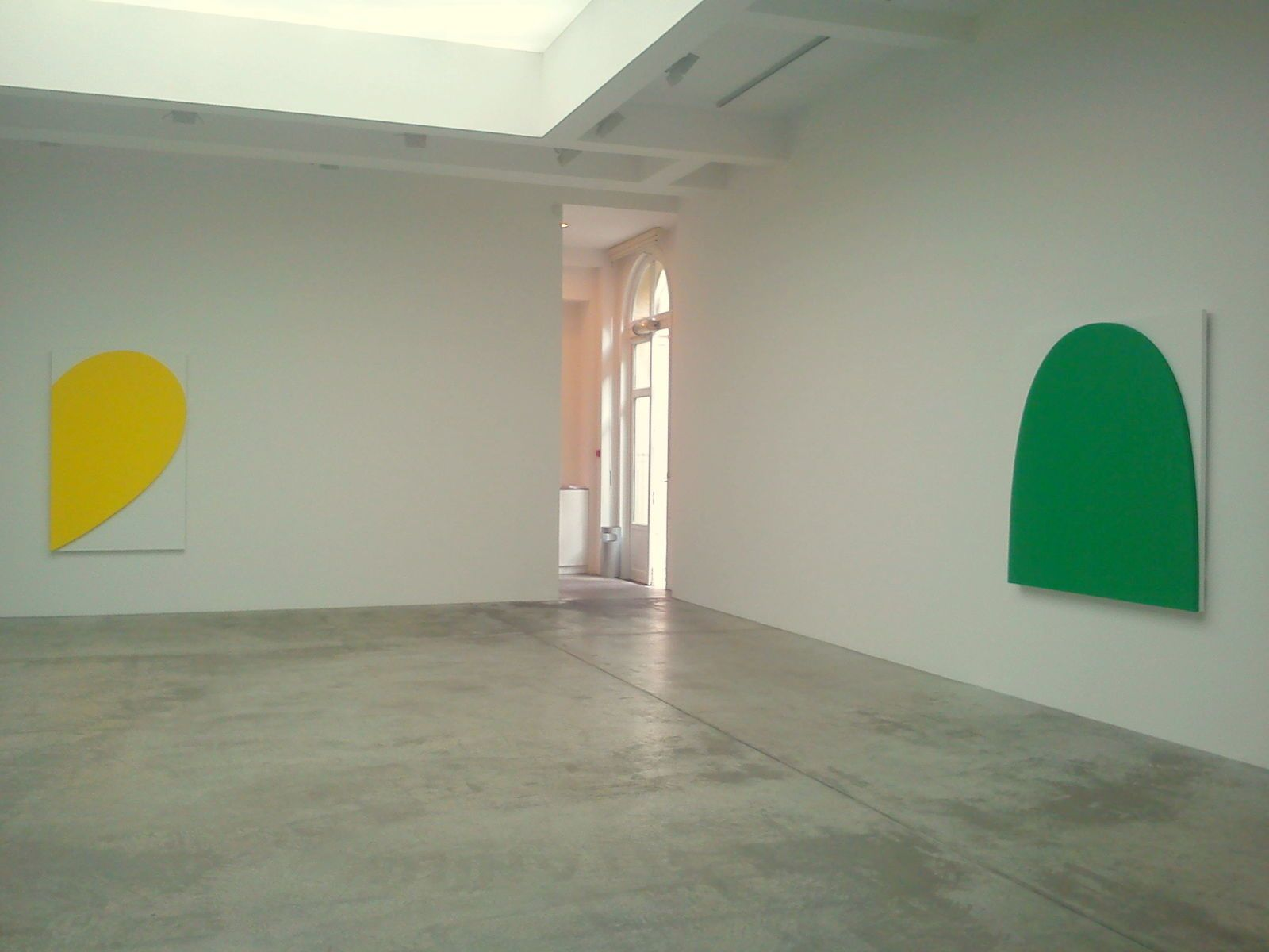 Nouvelle exposition d'Ellsworth Kelly, à la galerie Marian Goodman, Paris