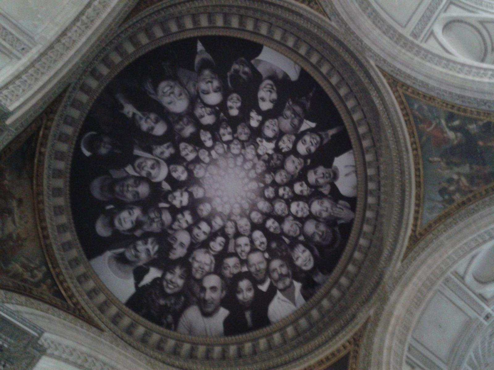 """"""" Au Panthéon ! """": une installation participative de JR"""