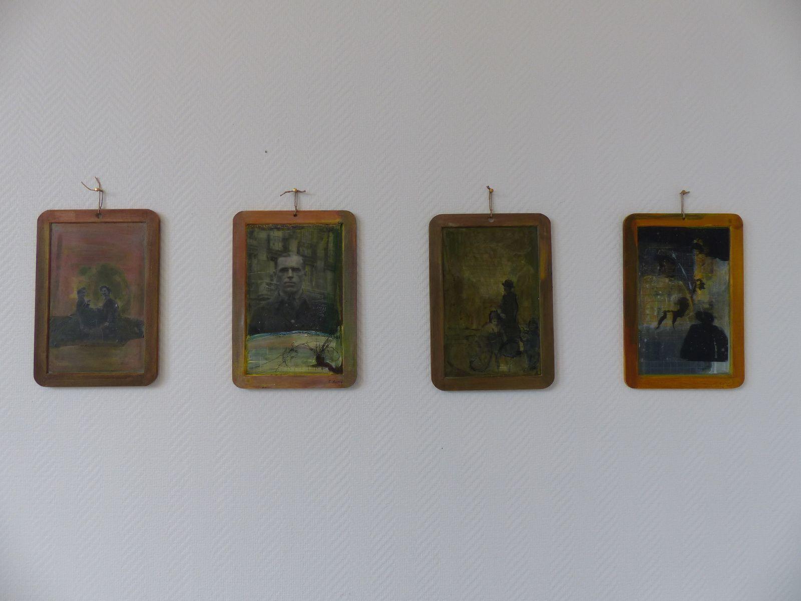 Les nouveaux contes des Lacs, exposition de Claudine Remy, au Corridor