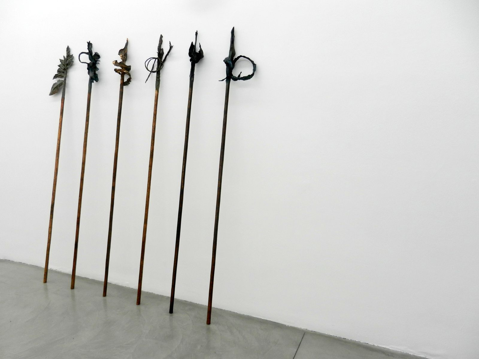 Armed, barbed and halberd-shaped, une exposition de Francesco Simeti : de singuliers végétaux