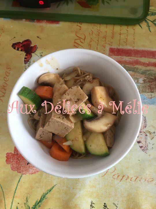 Nouilles au Tofu