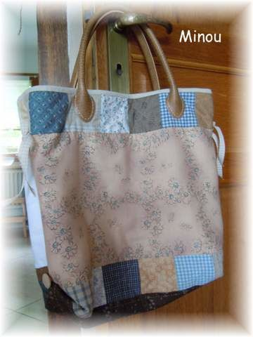 Sac aux maisons country