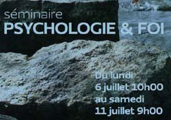 PSYCHOLOGIE & FOI