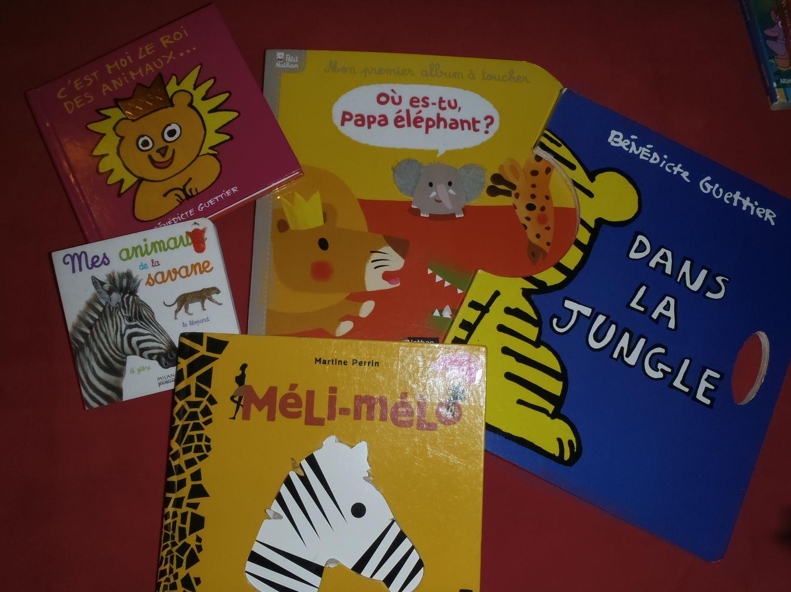Animaux d'Afrique : les livres et les comptines