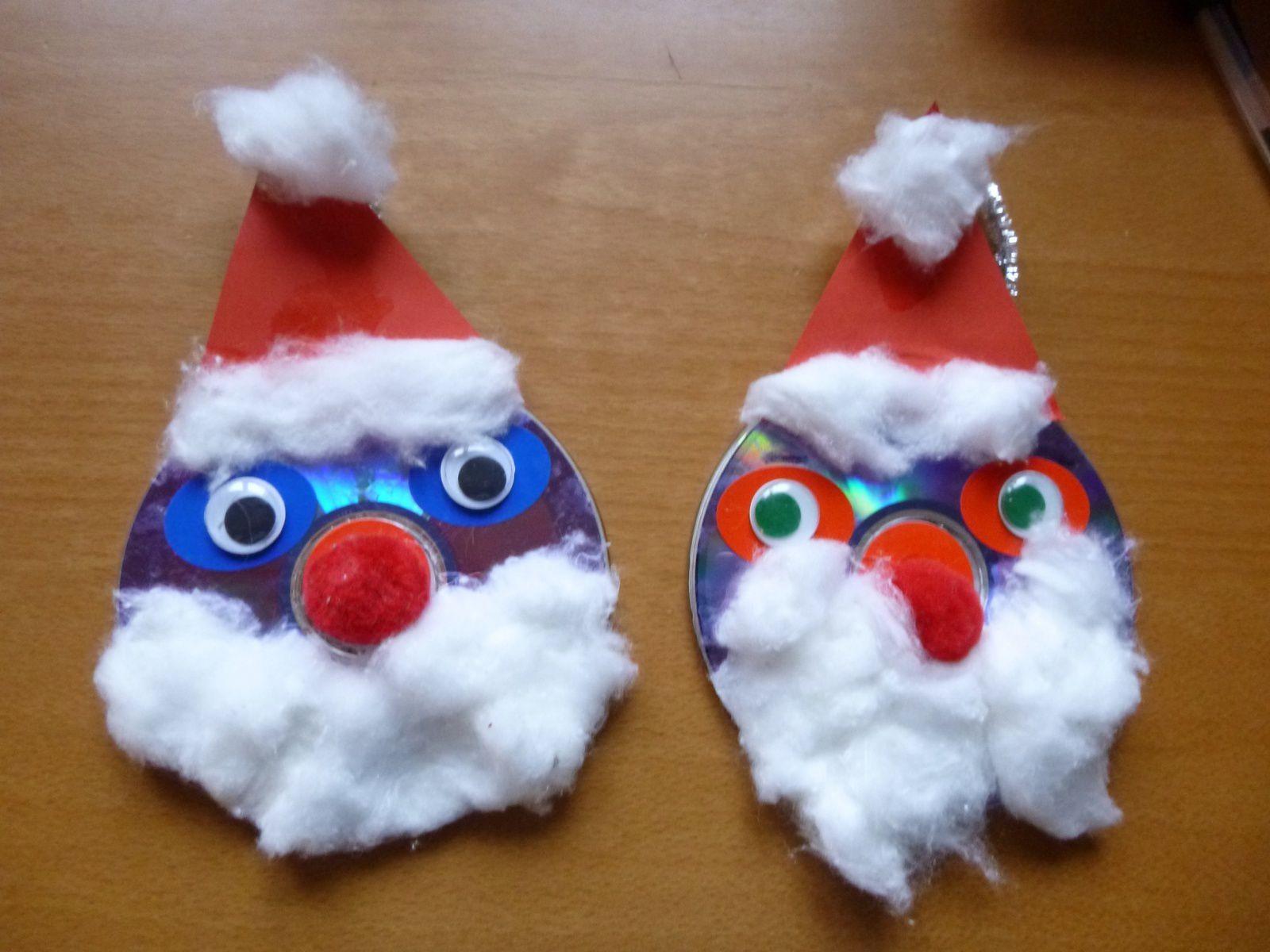 Bricolage de Noël : le Père Noël