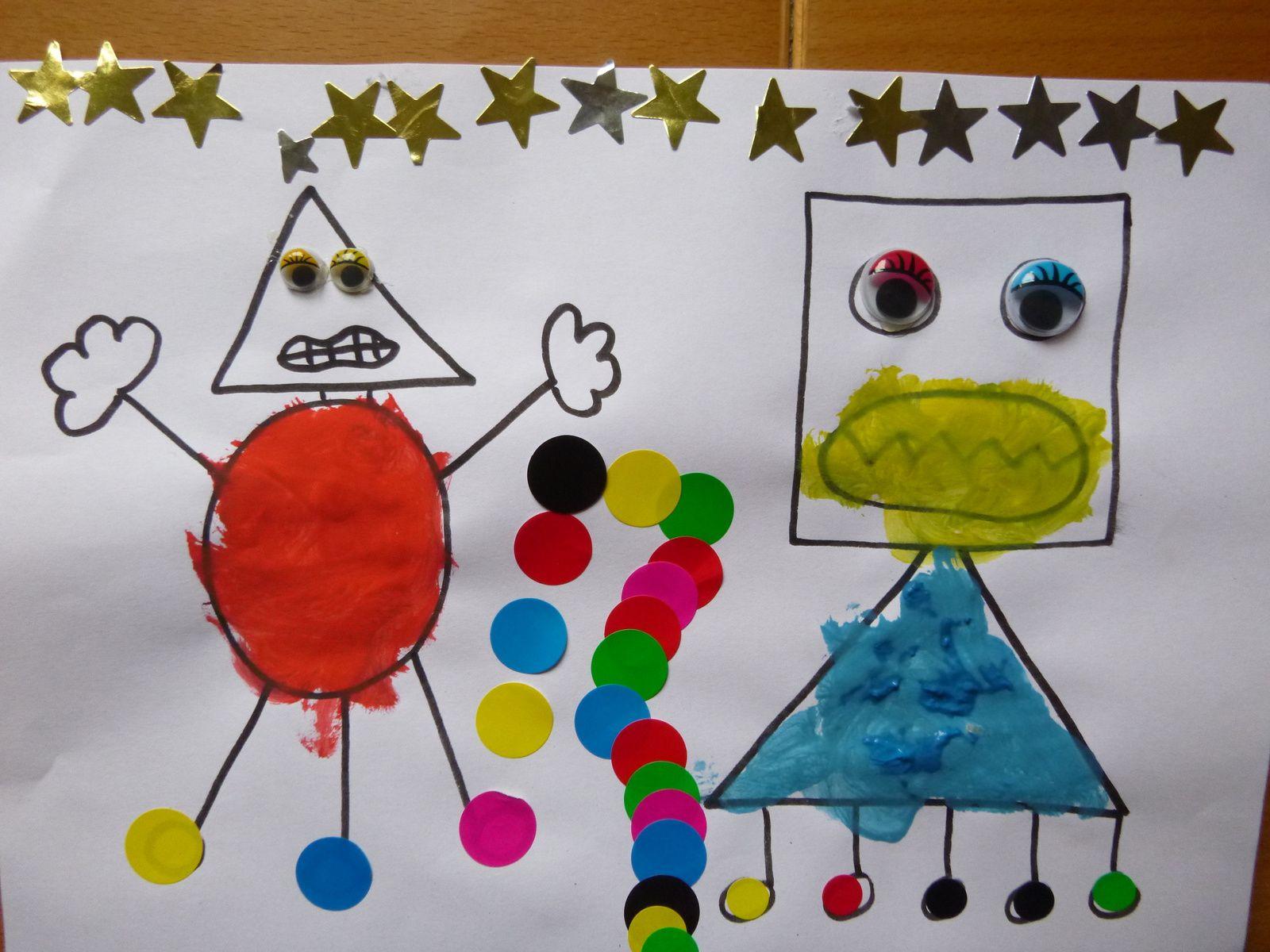 Coloriages en peinture