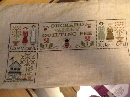 Sal Orchard Valley Quilting Bee 4