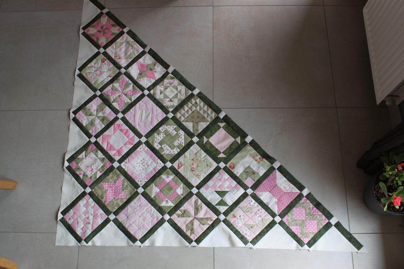Farmer's wife sampler quilt