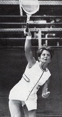 &quot&#x3B;Les pionnières&quot&#x3B;: Billie jean King, Rosie Casals, Julie Heldman, Nancy Richey, peaches Bartkowicz, Valerie Ziegenfuss et Kristy Pigeon .