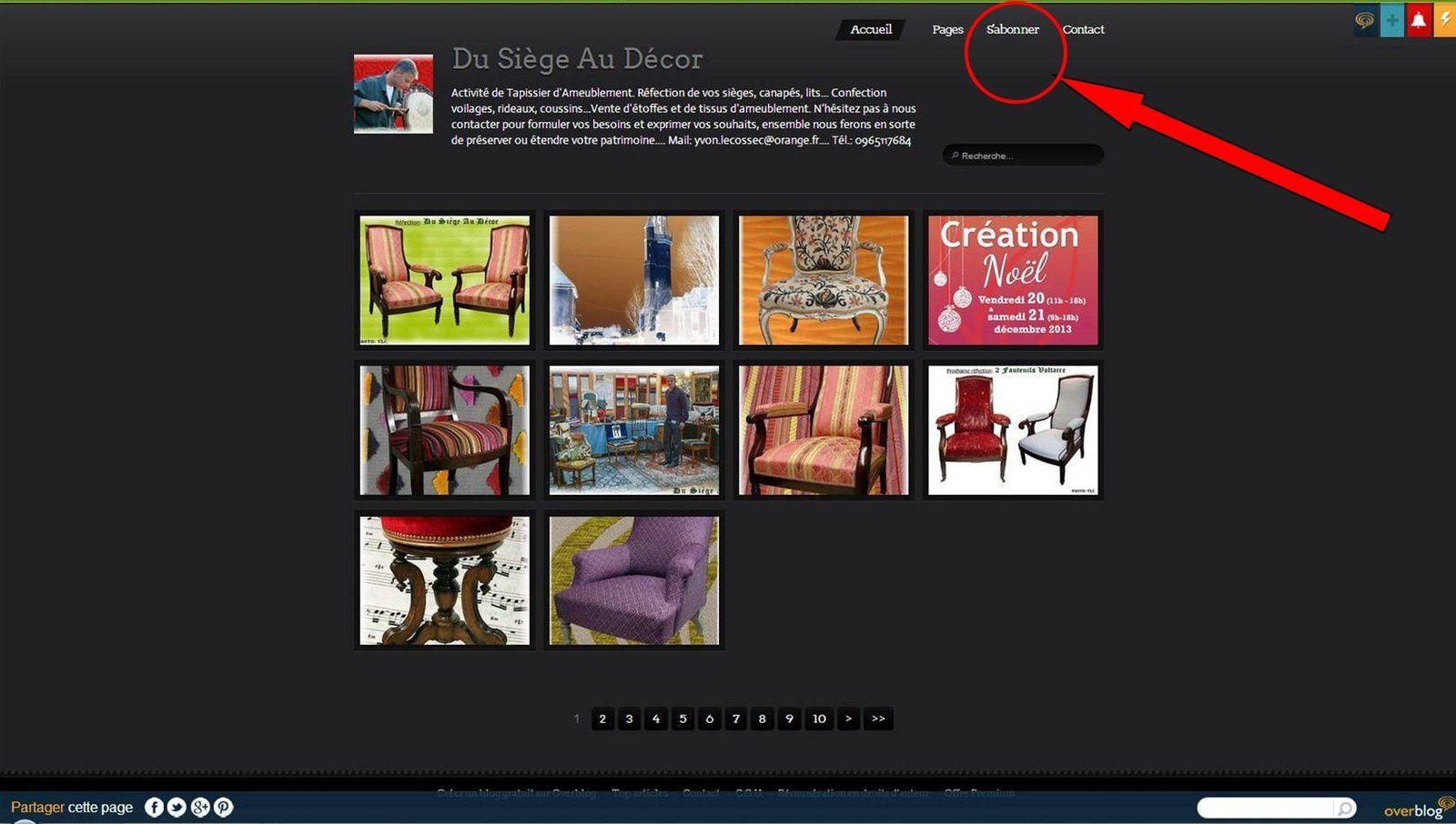 Photo page d'accueil Blog DSAD.