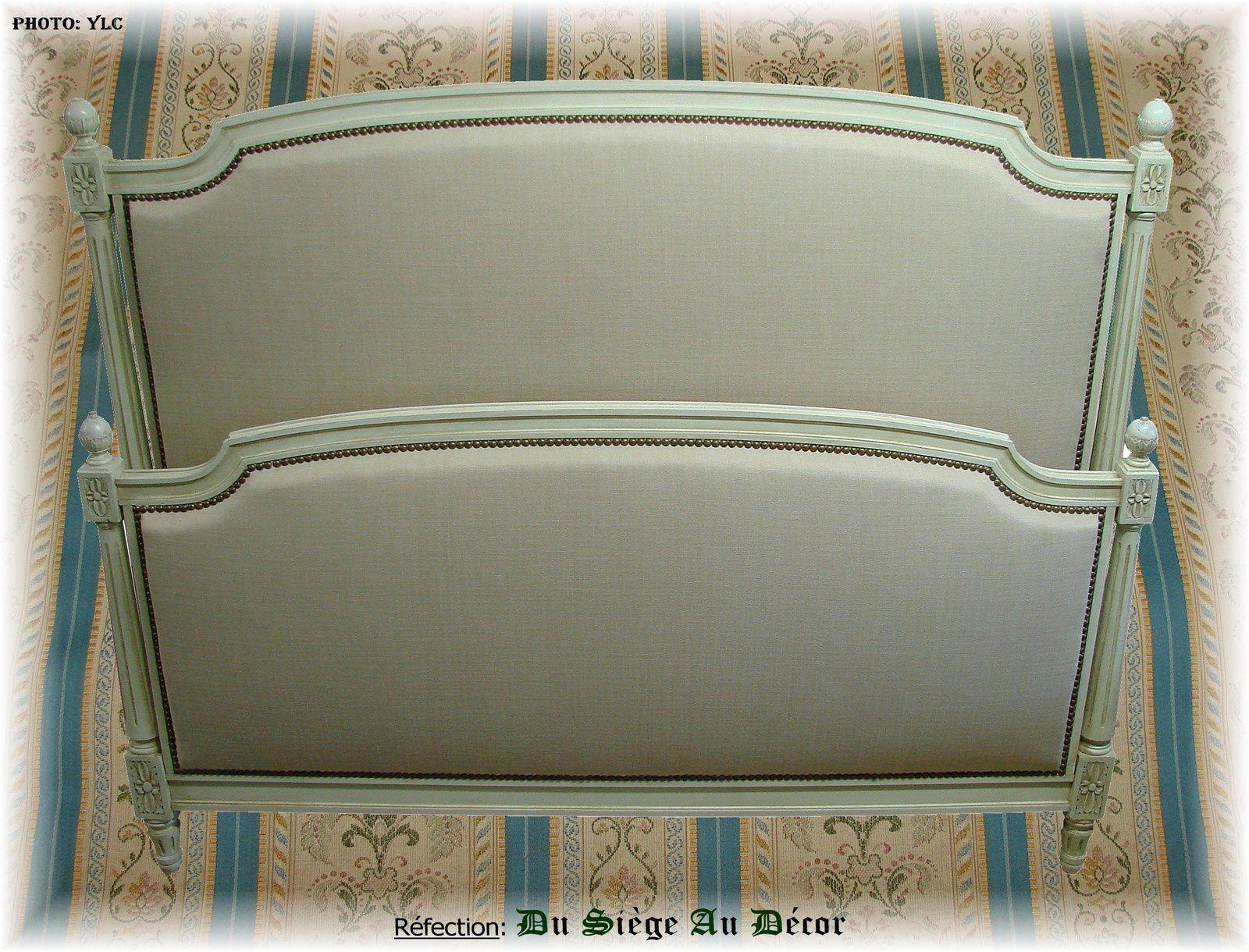 lit style louis xvi. Black Bedroom Furniture Sets. Home Design Ideas