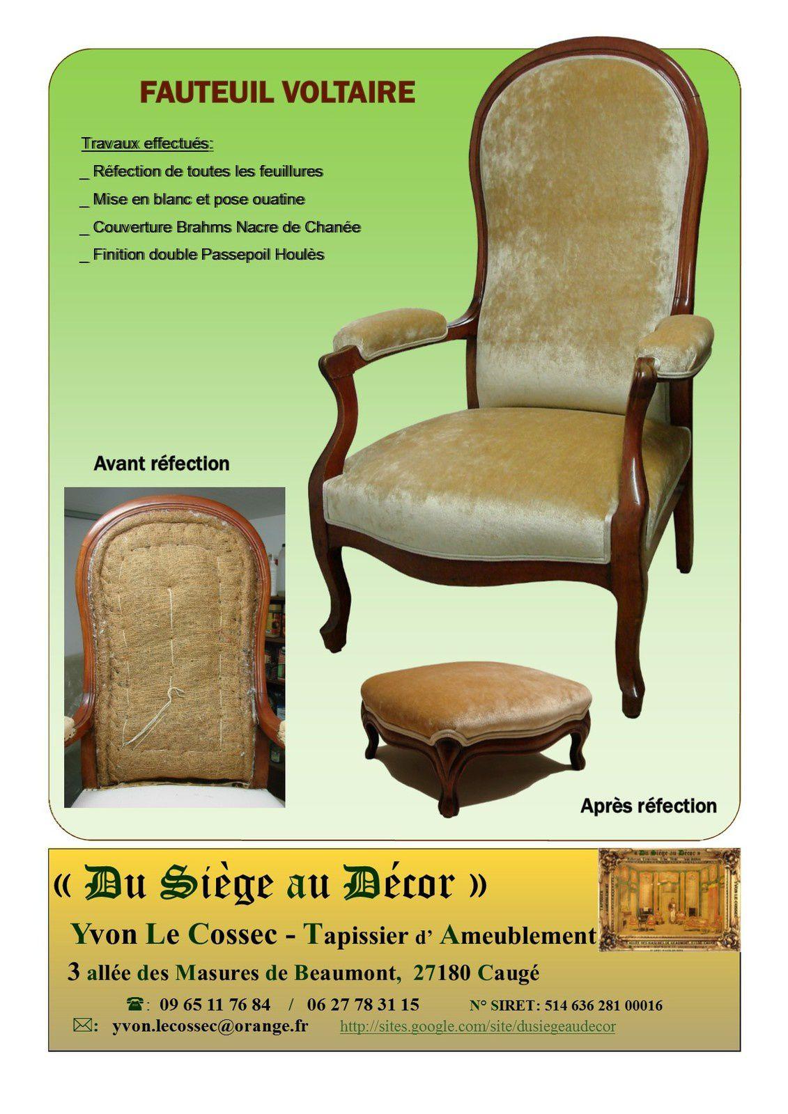 fauteuil voltaire x du si ge au d cor tapissier d 39 ameublement du si ge au d cor. Black Bedroom Furniture Sets. Home Design Ideas