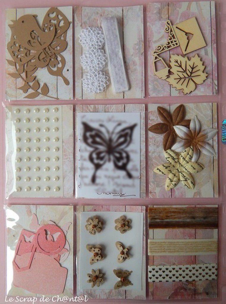 POCKET LETTER &quot&#x3B;Papillons&quot&#x3B;
