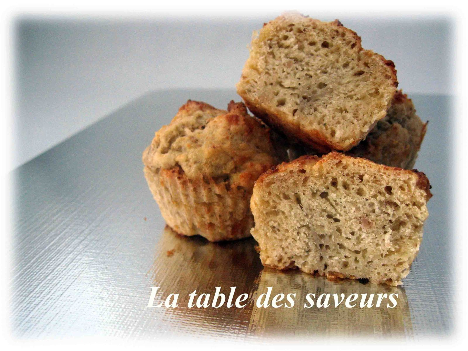Muffins jambon fromage