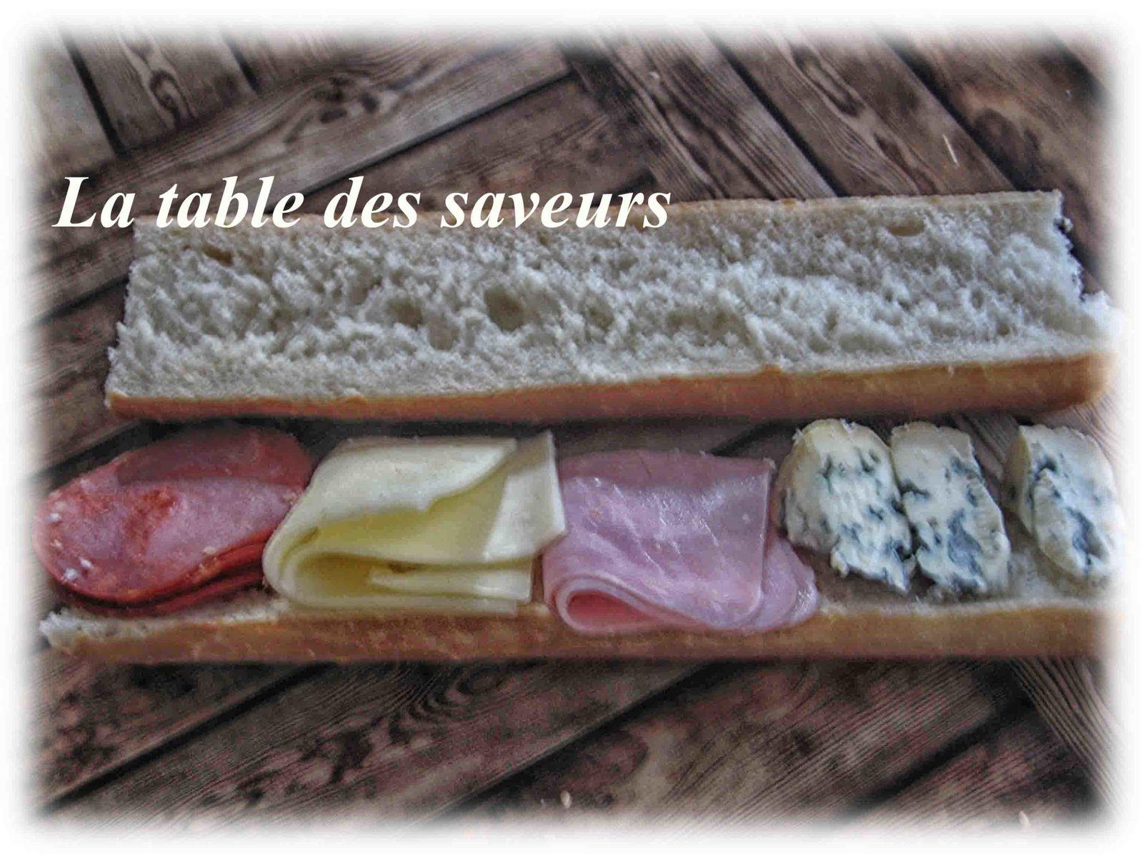 Sandwich diférent