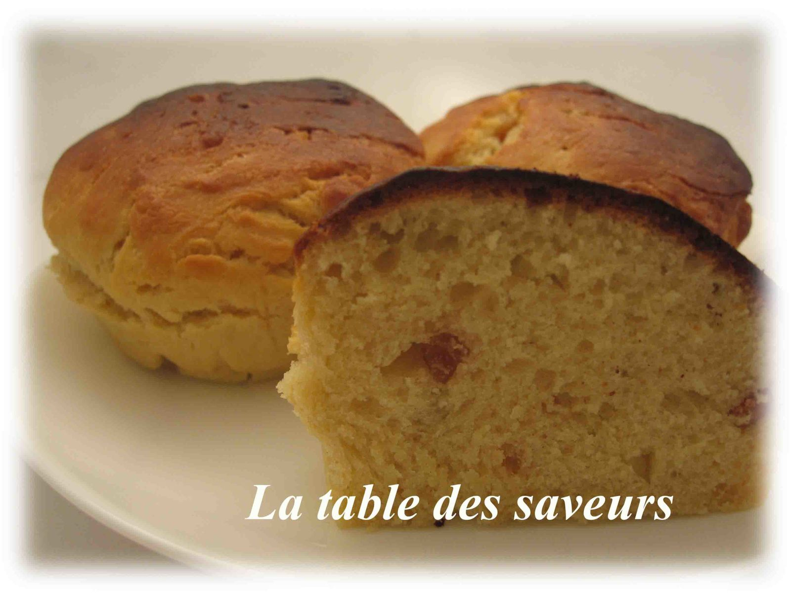 Brioche aux écorces d'orange confites