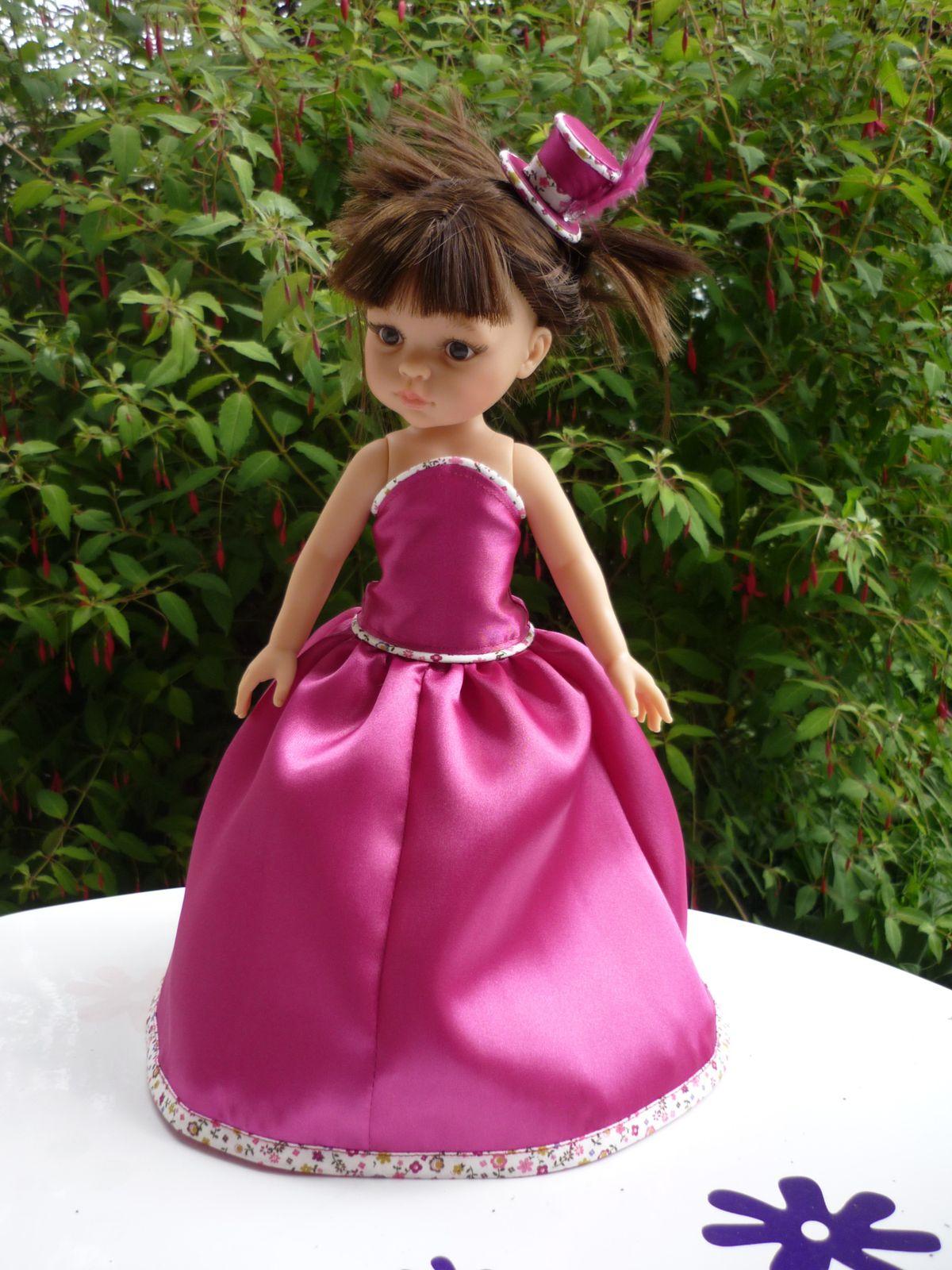 Tenue de princesse pour notre Paola Reina