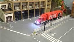 le truck coca cola dans toute sa plendeur de ses 431 feux !